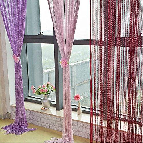 Bazaar Glitter Tassel String Line deur venster gordijn kamer deler Screen Decor