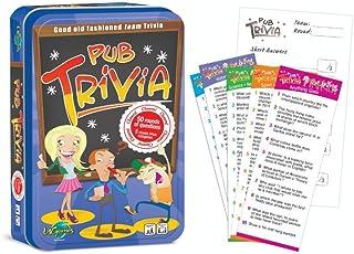 University Games PT001TIN Pub Trivia Tinned Game