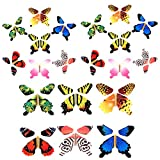 Gmai Magic Flying Butterfly - Classic Wind Up Swallowtail Butterfly - Close Up Magic Set of, Surprise Greeting Card or Romatic Wedding (20pcs)