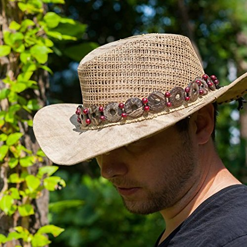The Real Deal: Made In Brazil Real Deal Coconut Hat Band