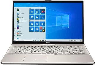 富士通 ノートパソコン FMV LIFEBOOK NH77/E3 17.3インチ Ryzen 7 SSD 256GB 8GBメモリ Microsoft Office 2019 Home & Business搭載 FMVN77E3G-K244RD...