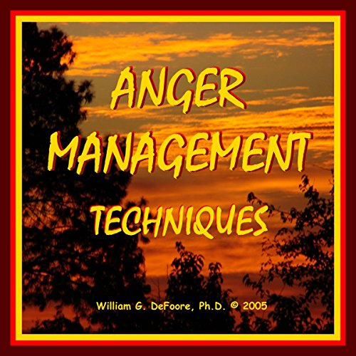 Anger Management Techniques audiobook cover art