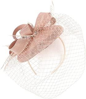 BCDshop Women Retro Headpiece Flower Ribbon 20S Flapper Headband Party Wedding Fascinator