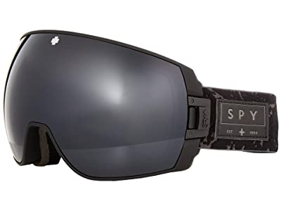Spy Optic Legacy (Onyx/Gray Green/Black/Persimmon/Silver Spectra Mirror) Snow Goggles