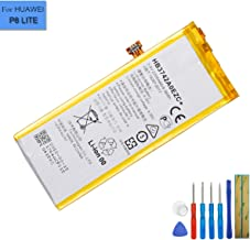 Li-Polymer Replacement Battery HB3742A0EZC+ Compatible with Huawei P8 Lite ALE-CL10 ALE-CL00 ALE-TL00 TAG-AL00 with Tools