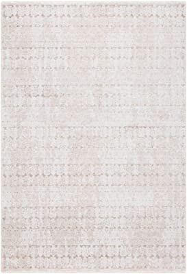 Safavieh Webster Collection WBS338B Area Rug, 4' x 6', Beige/Grey