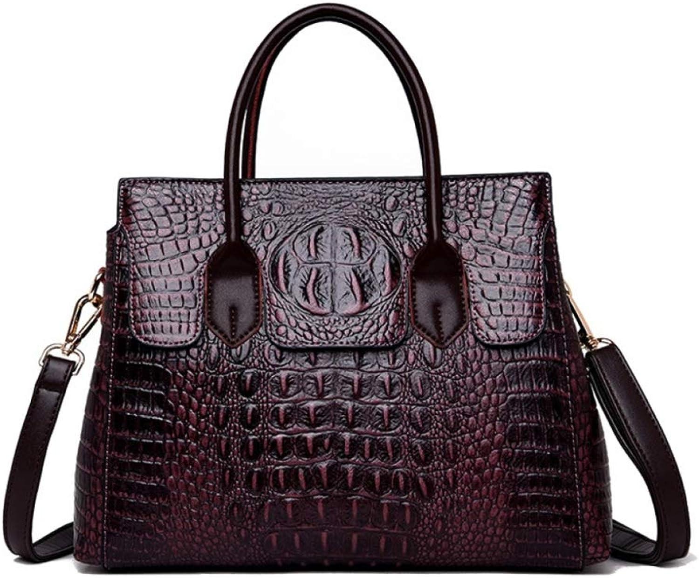XDDQ Handtasche Damen Handtasche Neue EuropäIsche Und Amerikanische Mode Mode Mode Krokodil Tattoo Lady Einzelne UmhäNgetasche UmhäNgetaschen B07MKQTFKX  Bequeme Berührung 17cb97