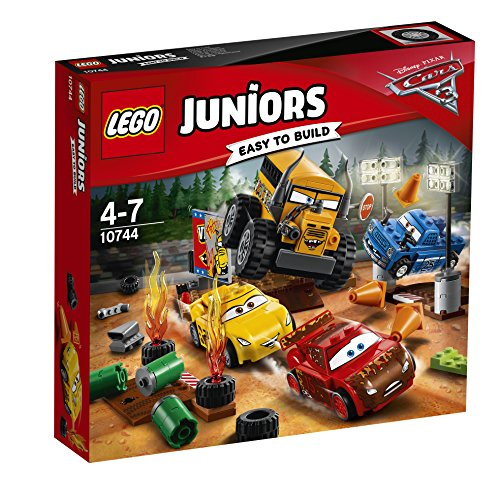 LEGO Juniors - Carrera Crazy 8 en Thunder Hollow, Juguete de