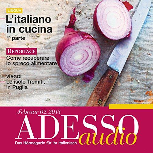 ADESSO audio - L'italiano in cucina. 2/2013 audiobook cover art
