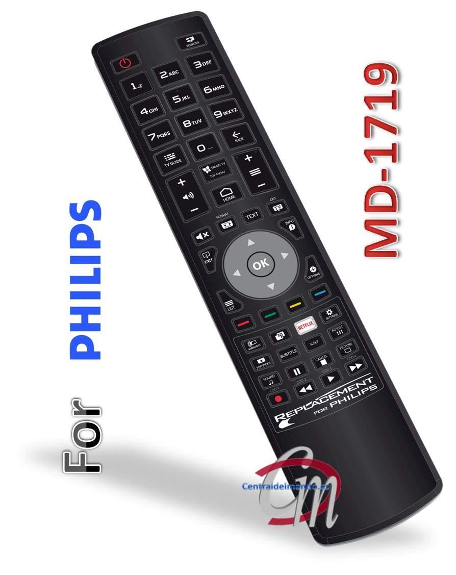 Mando a Distancia Universal para TV Philips Listo para Usar con ...