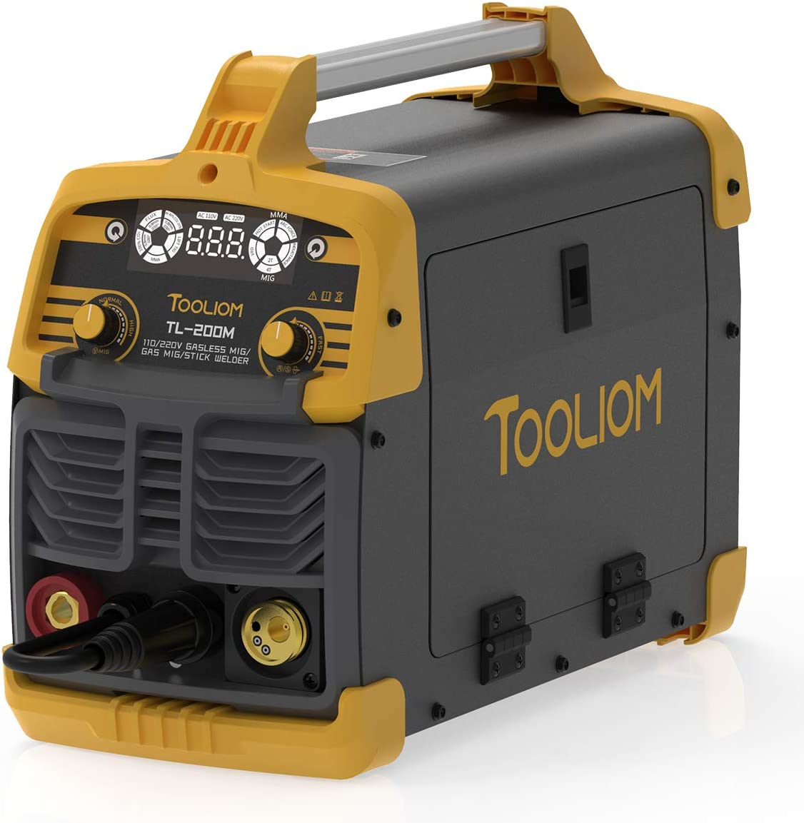 TOOLIOM Brand new 200A MIG Welder 3 in 1 Wire Max 48% OFF Solid Lift TIG Flux
