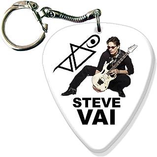 Steve Vai BIG Guitarra Pick Llavero Band Púa Para
