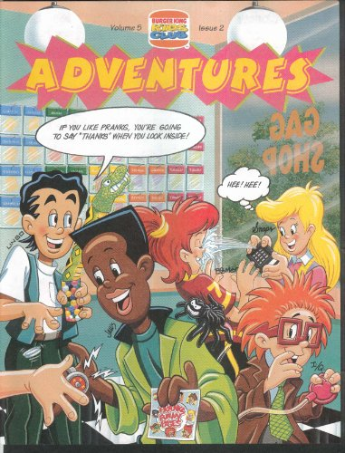 Burger King Kids Club ADVENTURES V5#2 Prodigy Service + 1993