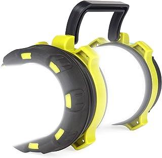 Hillmax LED Camping Lantern Rechargeable, 18650 Battery Spotlight Flashlight - 3000 mAh USB Rechargeable Power Bank, 4 Lig...