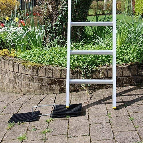 Reduces Risk of Ladder Slip by Toptower Big Foot Ladder Stopper Mat Aslon