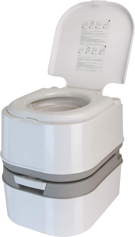 BB Sport Mobile Toilettes de Camping, WC Chimiques 24 l avec Pompe à Piston et..