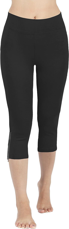 4HOW Women's Capri Las Vegas Mall Pants Leggings Under blast sales Active Fitness