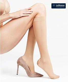 FALKE Energize 30 DEN Damen Kniestrümpfe mit anatomischem Druckverlauf