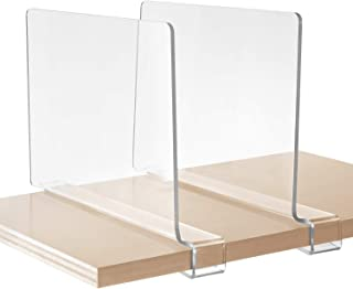 Best short shelf dividers Reviews