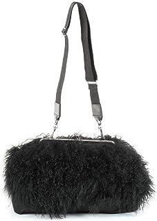 DSQUARED2 Luxury Fashion Mujer W17CL209315462124 Negro Bolso De Hombro | Temporada Permanente