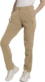 SYKROO Women's Hiking Pants Quick Dry Lightweight Water Resistant Outdoor with Zipper Pockets