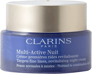 CLARINS MULTI-ACTIVE NIGHT CREAM 1.7 OZ CLARINS/MULTI-ACTIVE REVITALIZING NIGHT CREAM 1.7 OZ NORMAL TO COMBINATION SKIN