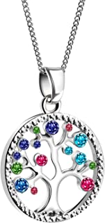 Women Necklaces Tree of Life Pendant Jewelry Love Charm...