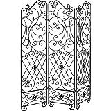 Inconnu - Biombo de 3 paneles de metal