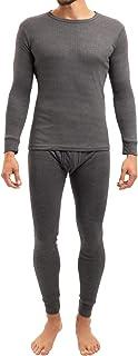 Set de ropa térmica para hombre - Camiseta y pantalón - Fibra térmica, suave y transpirable - Calidad de celodoro - Disponible en las tallas de la M a la 3XL