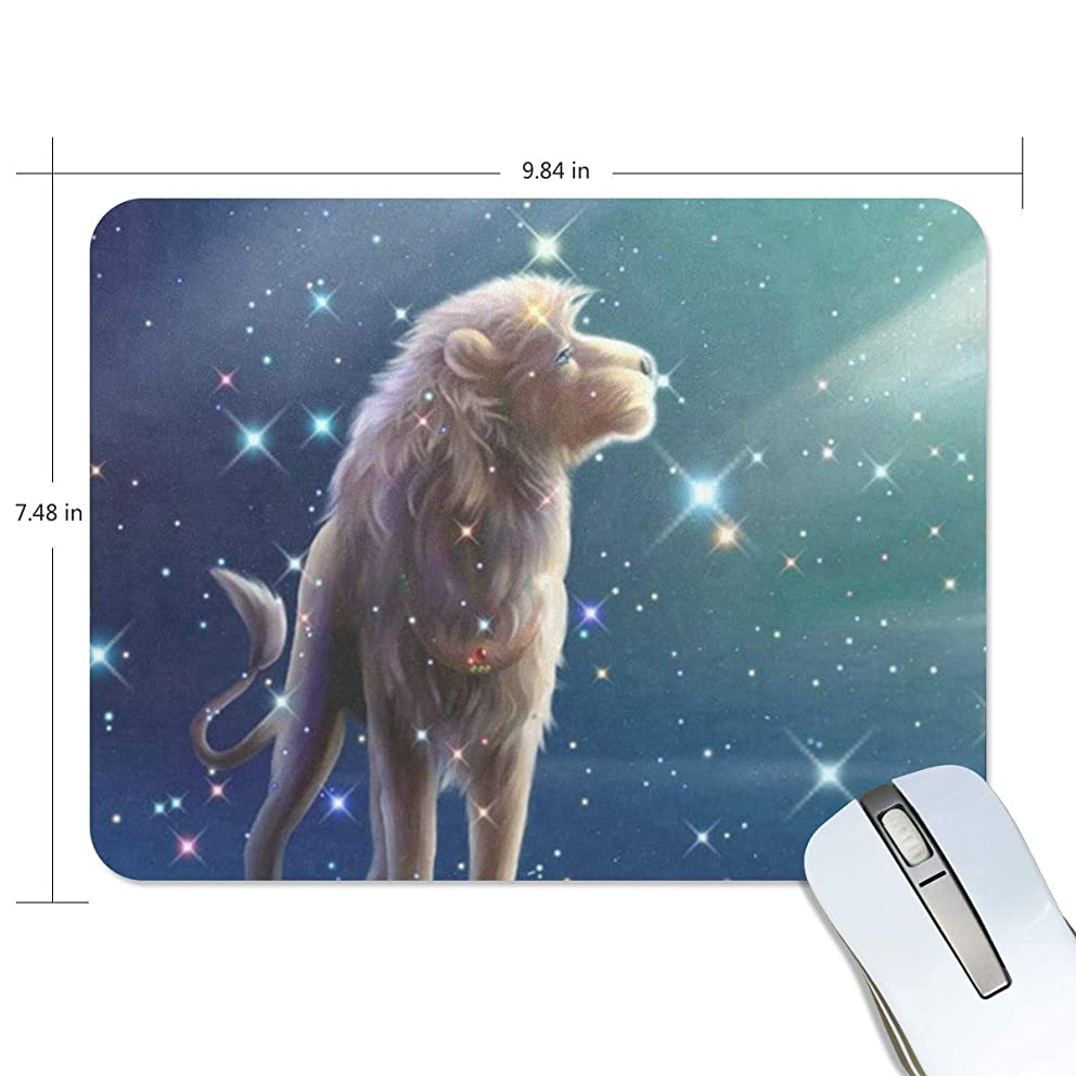 Mouse Pad King Lion Starry Sky Gaming Mousepad Cheap Small Thick Mouse Mat Black Amazing Mouse Pads