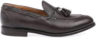 Luxury Fashion | Barrett Men 181U003CERVOASPBROWN Brown Leather Loafers | Spring-summer 20