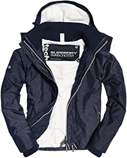 arctic hood pop zip windcheater