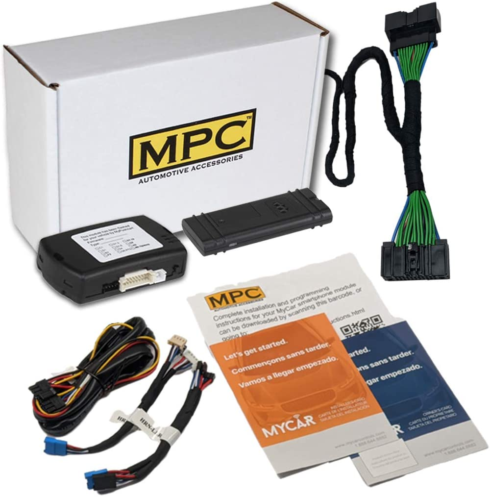 MPC Plug N Play Remote Starter for with Large discharge sale 2015- Control Smartphone New York Mall