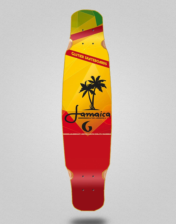 Skateboard Longboard Deck Mix Ranking TOP16 46x9 Jamaica Bamboo New Free Shipping Glutier