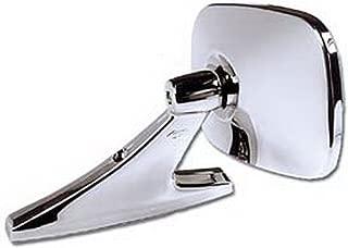 CIPA 18000 Universal Oblong Chrome Car Side Mirror