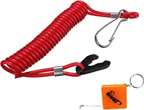for Outboard Motors Emergency Cut Off Cord Shiwaki Boat Engine Safety Kill Stop Switch Lanyard