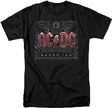 ACDC Black Ice Rock Album T Shirt & Stickers