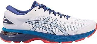 ASICS Men's Gel-Kayano 25 Running Shoes, 11M, White/Blue...