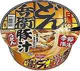 日清食品 どん兵衛 豚汁うどん 98g×12個