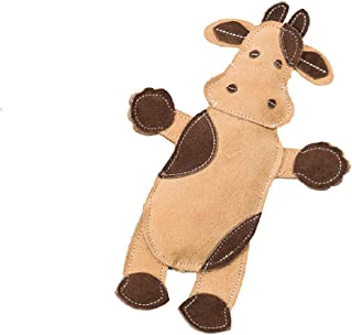 SPOT Ethical Pets Dura-Fused Leather Assorted Barnyard Animals Dog Toys, 11