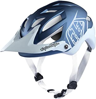 Troy Lee Designs All Mountain Mountain Bike A1 Classic with MIPS (Small, Blue/White)