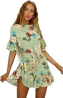 49af161b Amazon.es: Vestidos Cortos Con Estampados De Flores