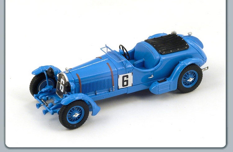 marca de lujo Spark Model S3887 Alfa Romeo Romeo Romeo 8C N.6 30th LM 1934 Lord 1 43 Die Cast Compatible con  punto de venta barato