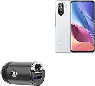 Carregador de carro BoxWave para Xiaomi Mi 11X [Mini Carregador de carro Dual PD] Rápido, 2 carregadores USB para Xiaomi M...