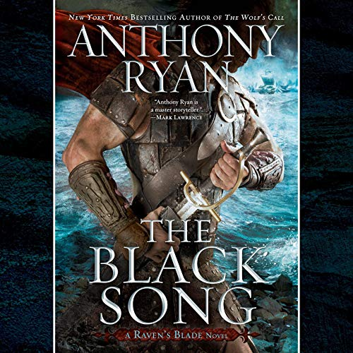 The Black Song audiobook cover art