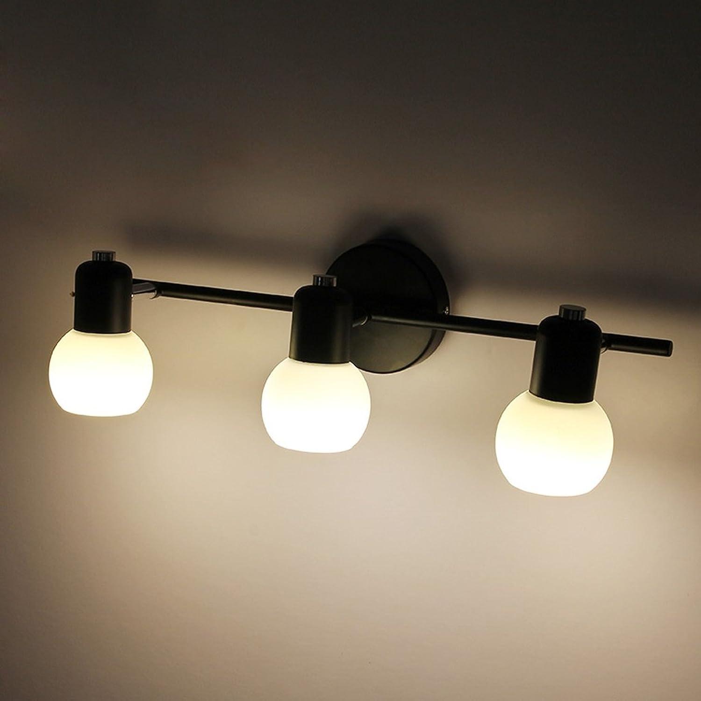 Vor Zahn Lampe Lichter Retro Spiegel Spiegel Spiegel Spiegel Lock Led Beleuchtung Led Wall Hall Hall Wand (gre   46  14cm)