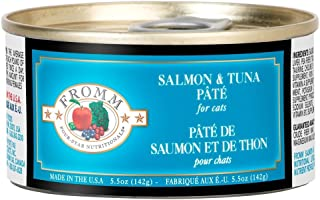 Fromm Salmon & Tuna Pate 5.5oz Cans/Case of 12