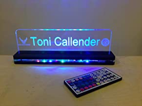 laser cut acrylic led signs