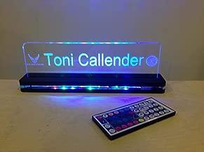 laser cut acrylic led signs