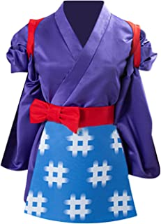 ULLAA Animal Crossing Daisy Mae Kimono Cosplay Costume Uniforms Halloween Party Outfits for Anime Exhibition Fancy Dress